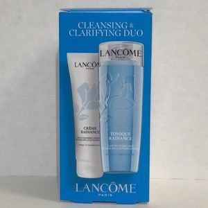 Lancôme cleansing and clarifying duo